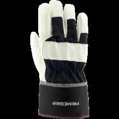 Groundhog Goat Leather Work Gloves - Large