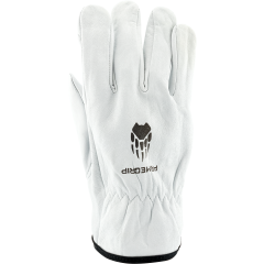 White Wolf Driver Gloves (Unlined) - SMALL
