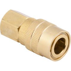"3/8"" Female M-Style Coupler"